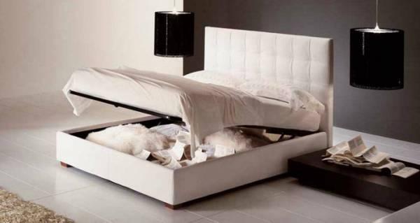 Amazon letto matrimoniale con contenitore sogno immagine for Offerte camere da letto mercatone uno