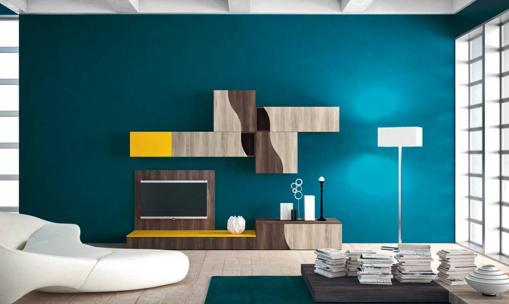 Piccolo mobile per soggiorno moderno - Mobile moderno per soggiorno ...