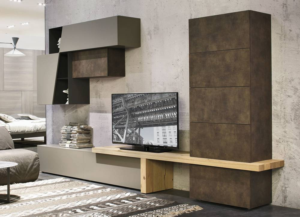 Soluzioni componibili per soggiorno moderni for Soluzioni di arredo per soggiorni