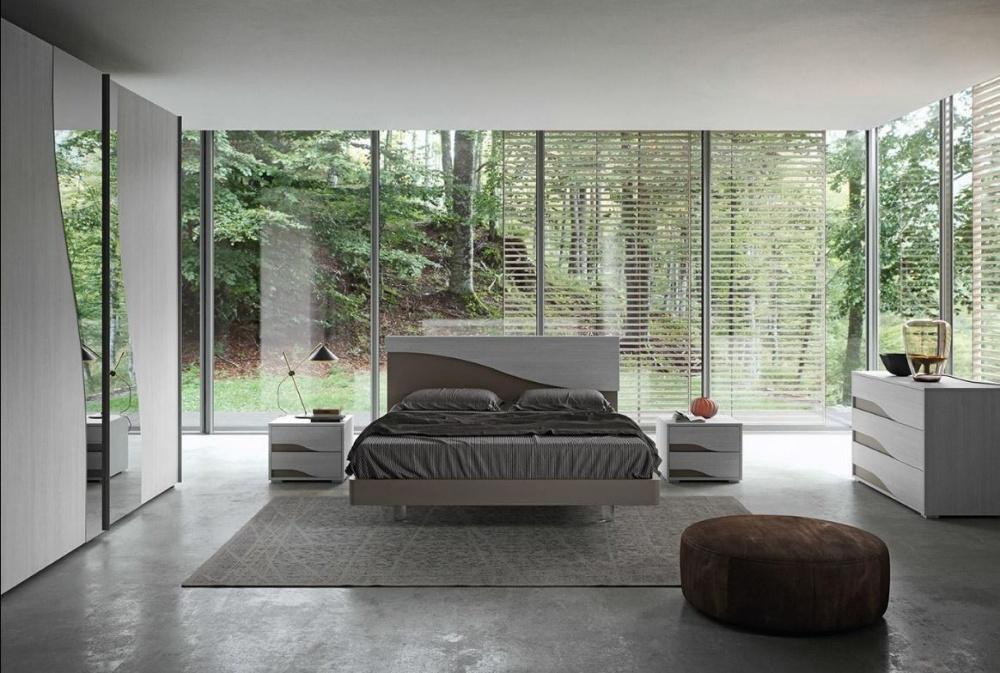 Vendita camera da letto moderna economica alpe - Testiera letto moderna ...