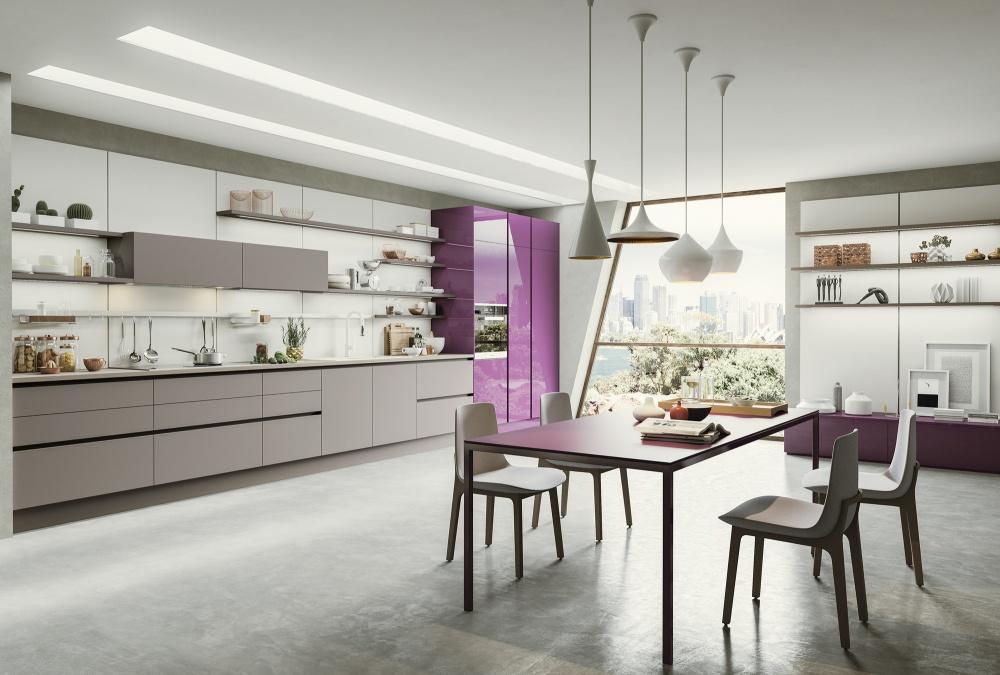 cucina lamina fenix colore Record a Torino