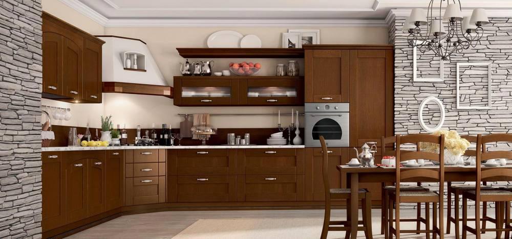cucina classica anta legno
