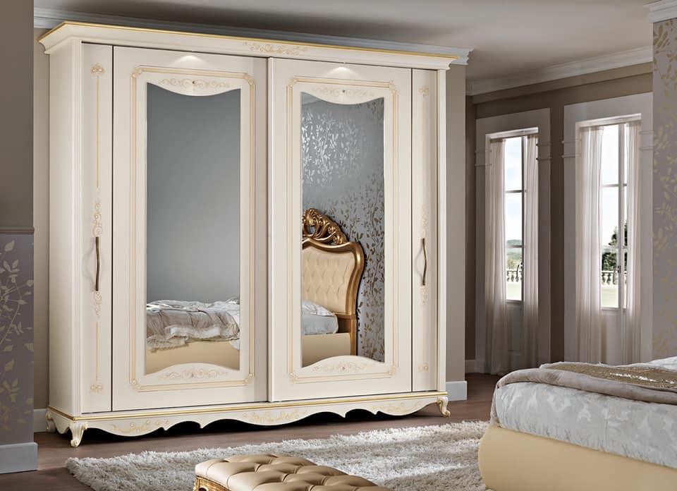 armadio anta a specchio modello Angelica