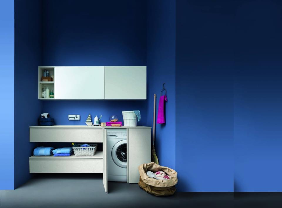 arredare lo spazio lavanderia