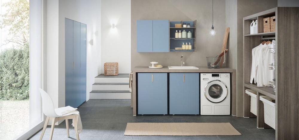 Azzurra Lime Wash soluzioni per gestire al meglio lo spazio