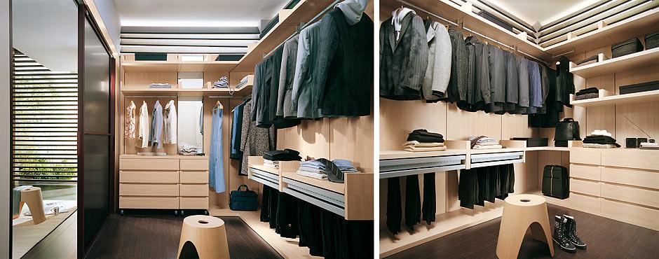 cabine armadio per piccole e grandi stanze