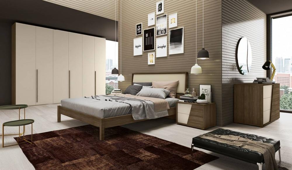 Camere da letto eleganti raffinate funzionali