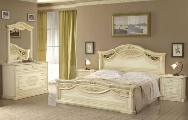 camera da letto modello marika colore beige