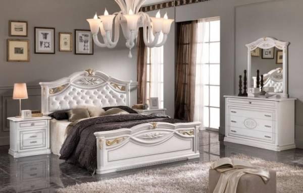 camera da letto modello marika colore bianco