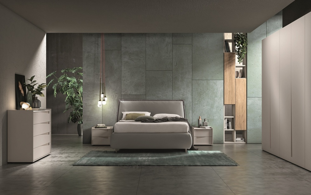 Camera da letto elegante e funzionale Tante soluzioni ...