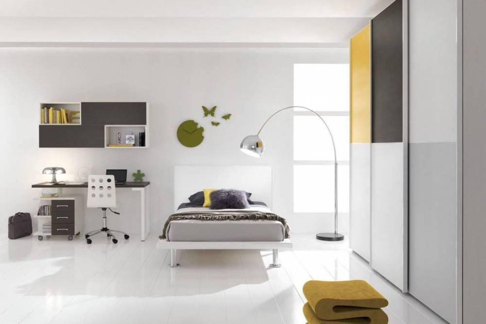 Ingrosso e dettaglio mobili - Camera ragazzo moderna ...