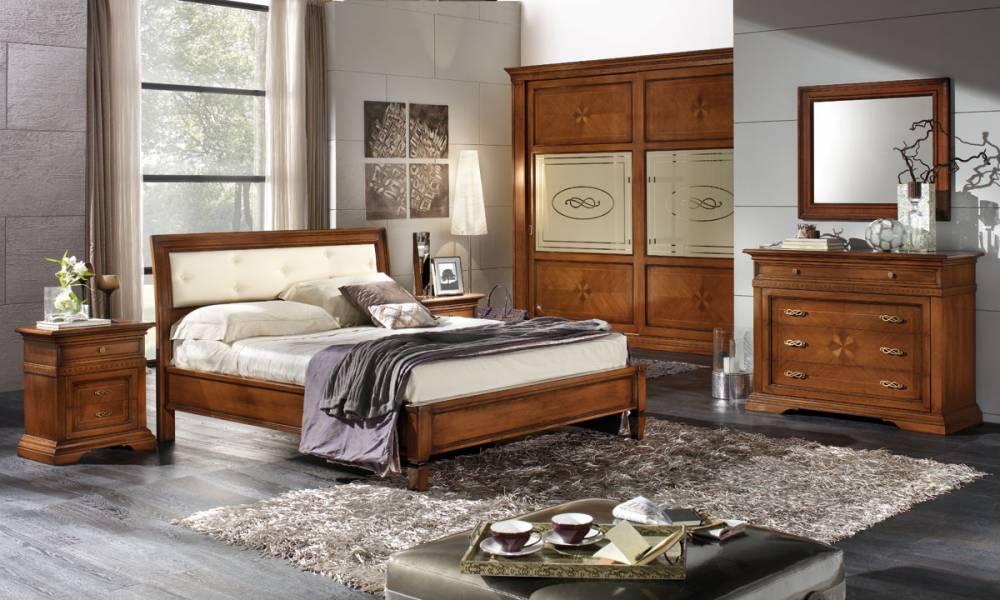 Camera da letto classica in legno prezzi occasioni