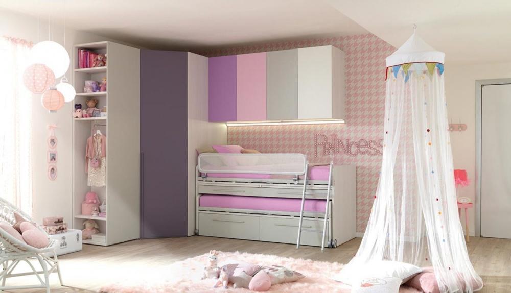 colori fantasia cameretta per bambine