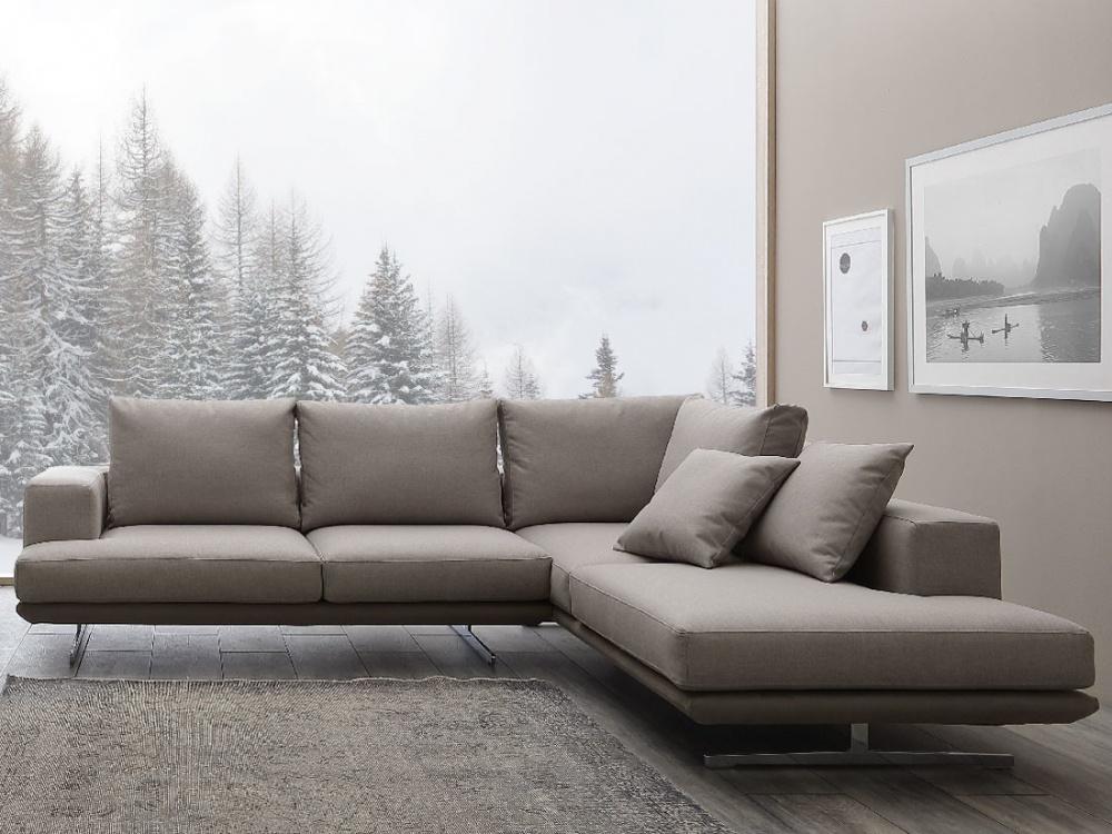 Crippa salotti divano dalla linea moderna e leggera mod Nuvola