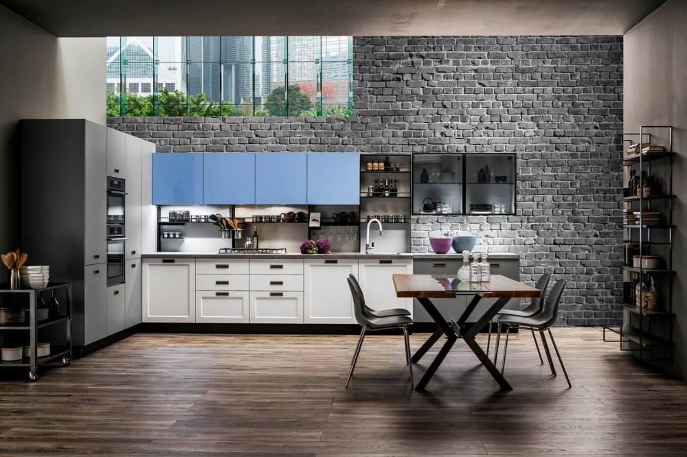 Progetti di cucine su due pareti