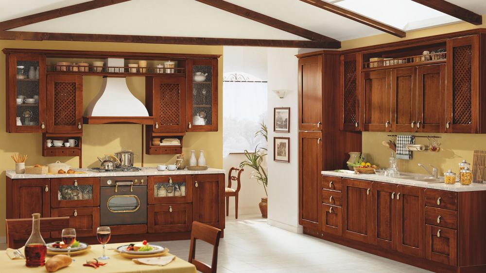 cucine su misura in stile classico