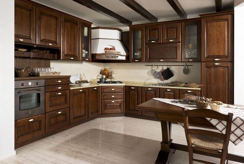 Cucina classica progettazione e produzione axis - Arredamento cucina classica ...