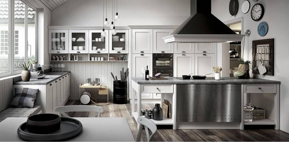 cucina modello Lousiana progetto 4 Spagnol