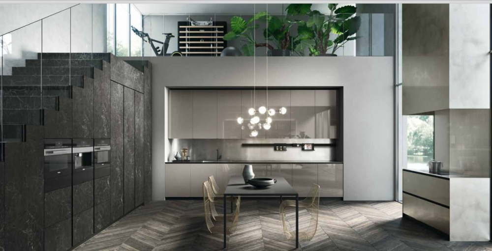 Progettazione di una cucina lineare