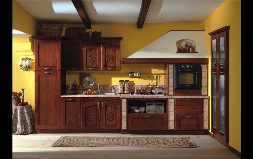 cucine in colore giallo