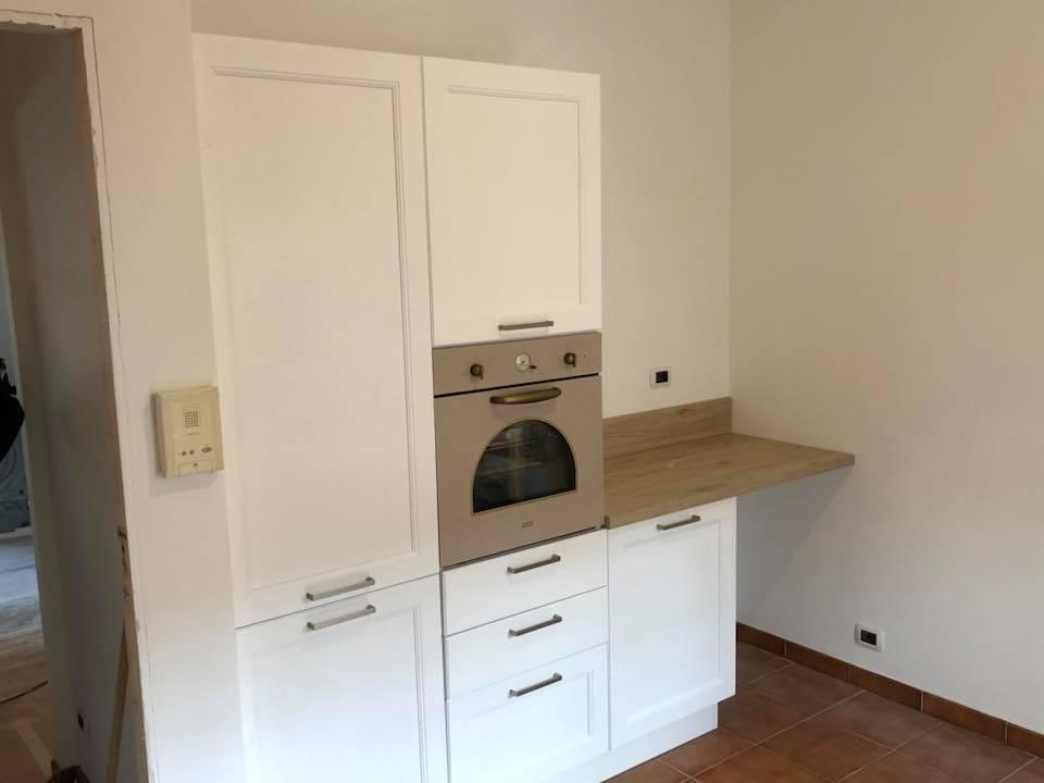 cucina colonna forno