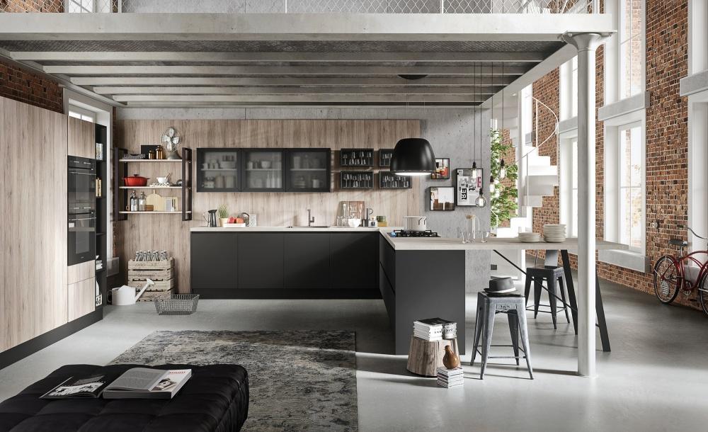 Cucine con penisola torino - Cucine urban style ...