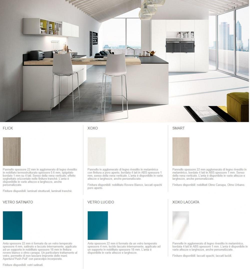 cucine metri lineari 3 colori a scelta