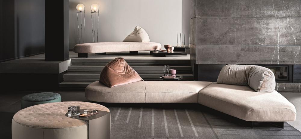 Di Tre Italia divano da infinite combinazioni mod Papilo