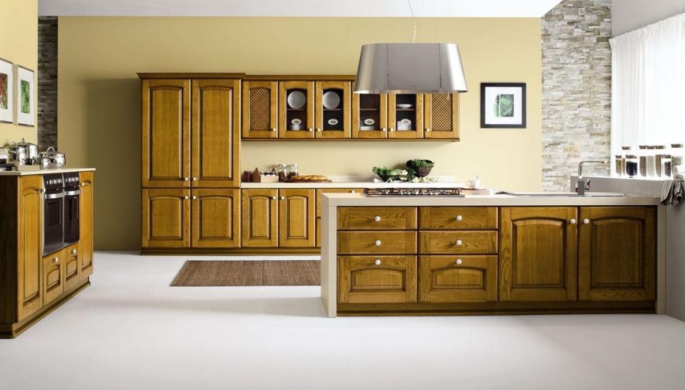 soluzioni per cucine in legno
