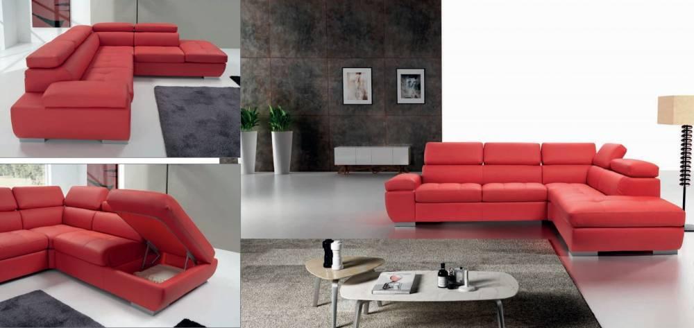 divani in pelle vari colori