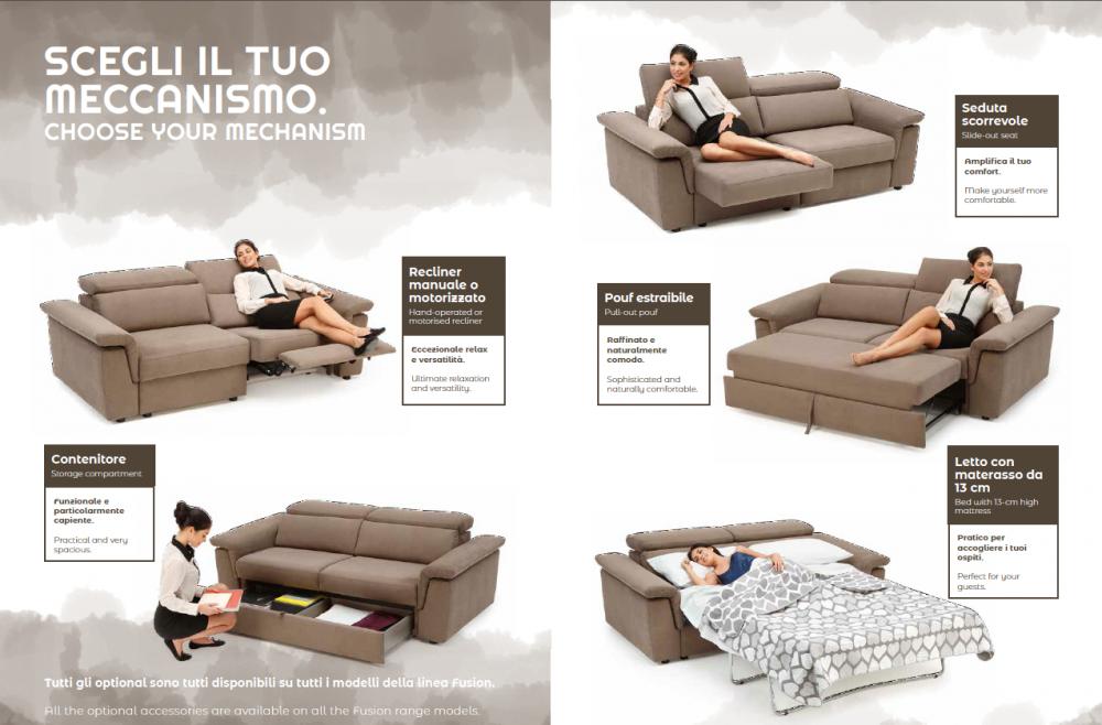 divano scegli il tuo meccanismo