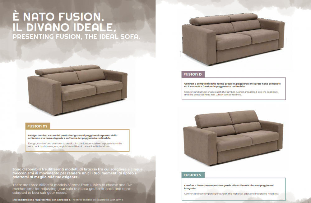 divano versatile secondo i vostri gusti e esigenze