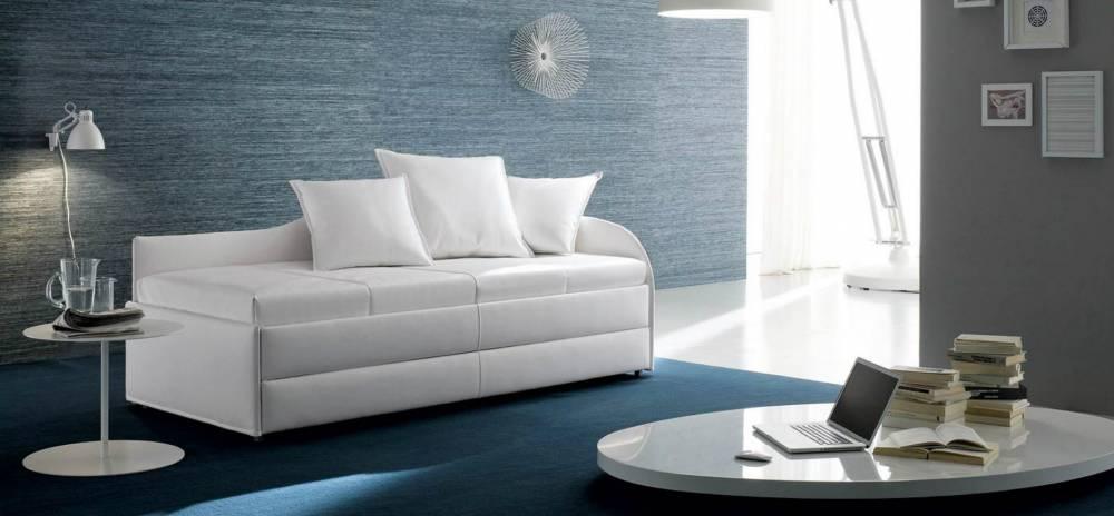 divani colore bianco neve