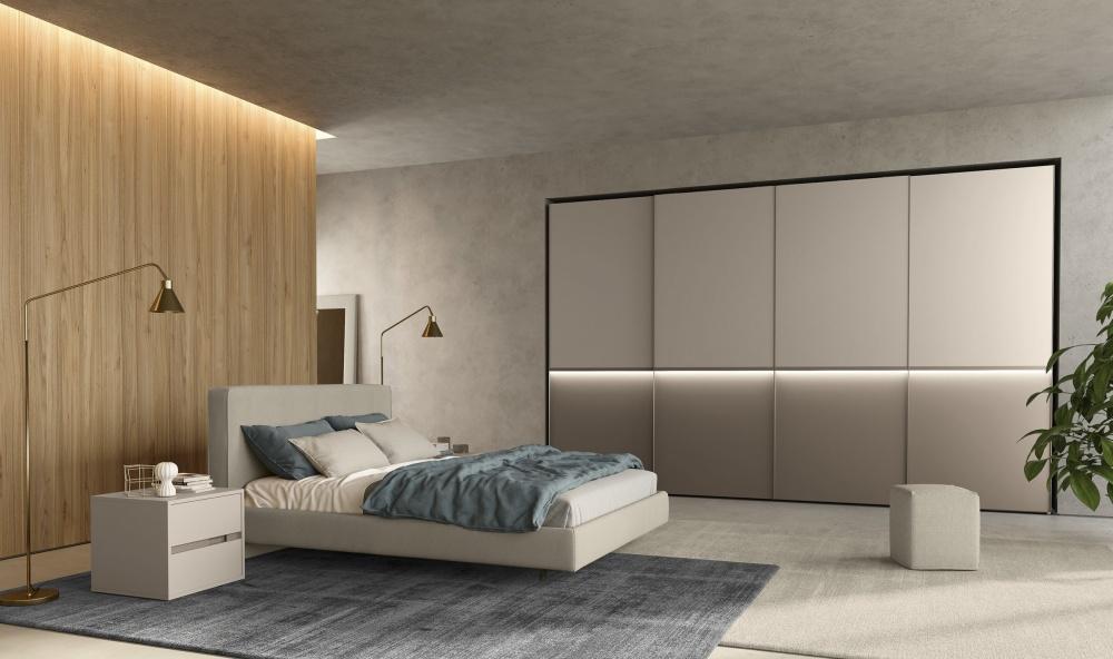 Illuminare la camera da letto con stile