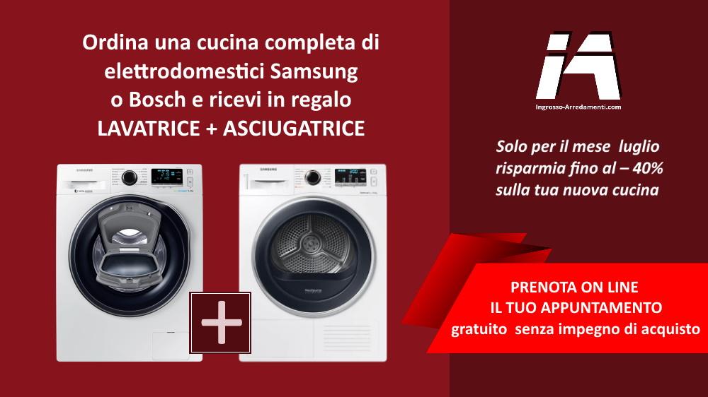 Promozione Luglio 2021 lavatrice ed asciugatrice in omaggio