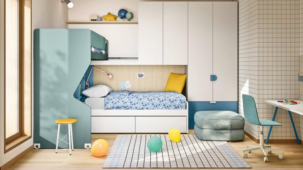 cameretta kids space 19 nidi