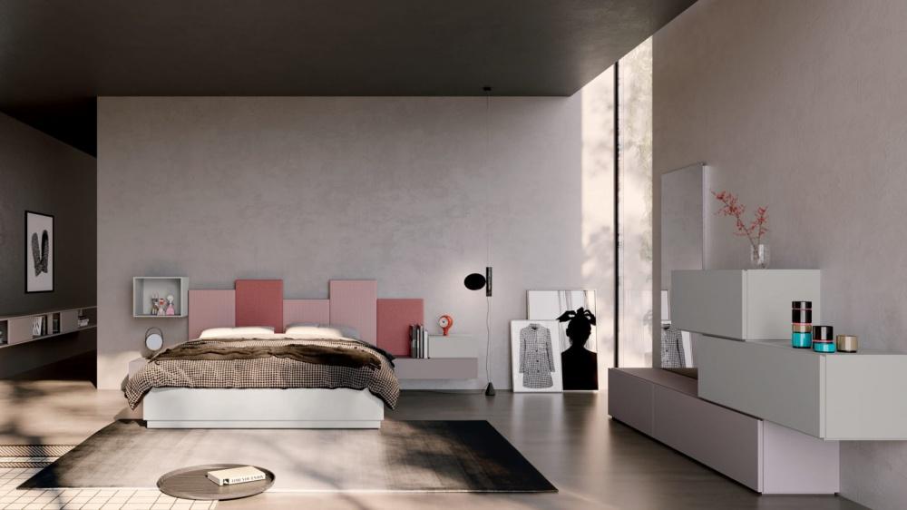 letto modello wall Orme a Prato