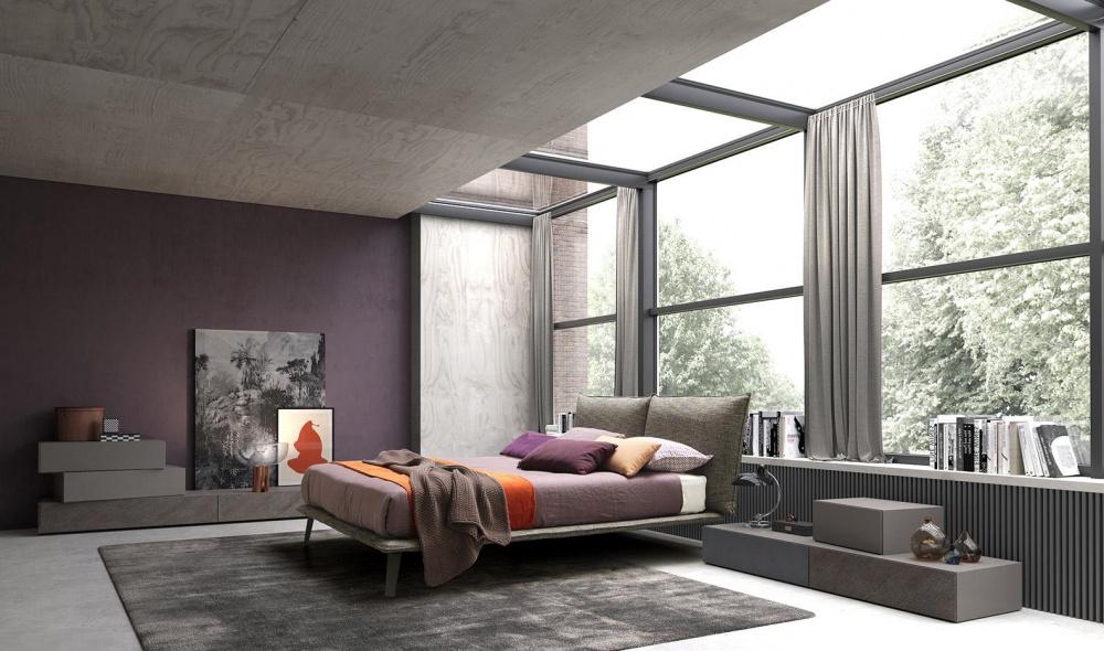 camera da letto moderna a Firenze