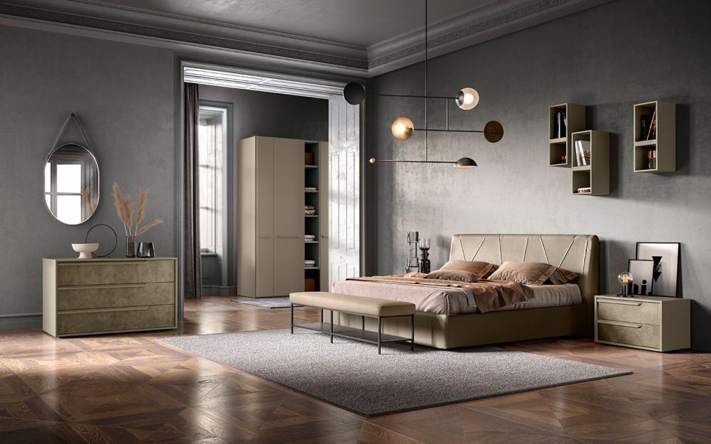 Abbinamento di colori per la camera da letto