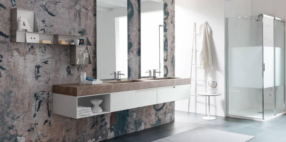 mobile da bagno moderno e lussuoso