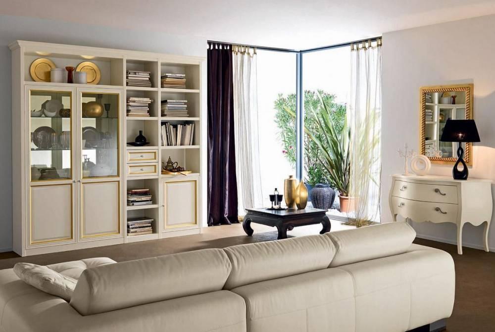 Mobile da soggiorno anta con finiture in oro for Alpe arredamenti catalogo