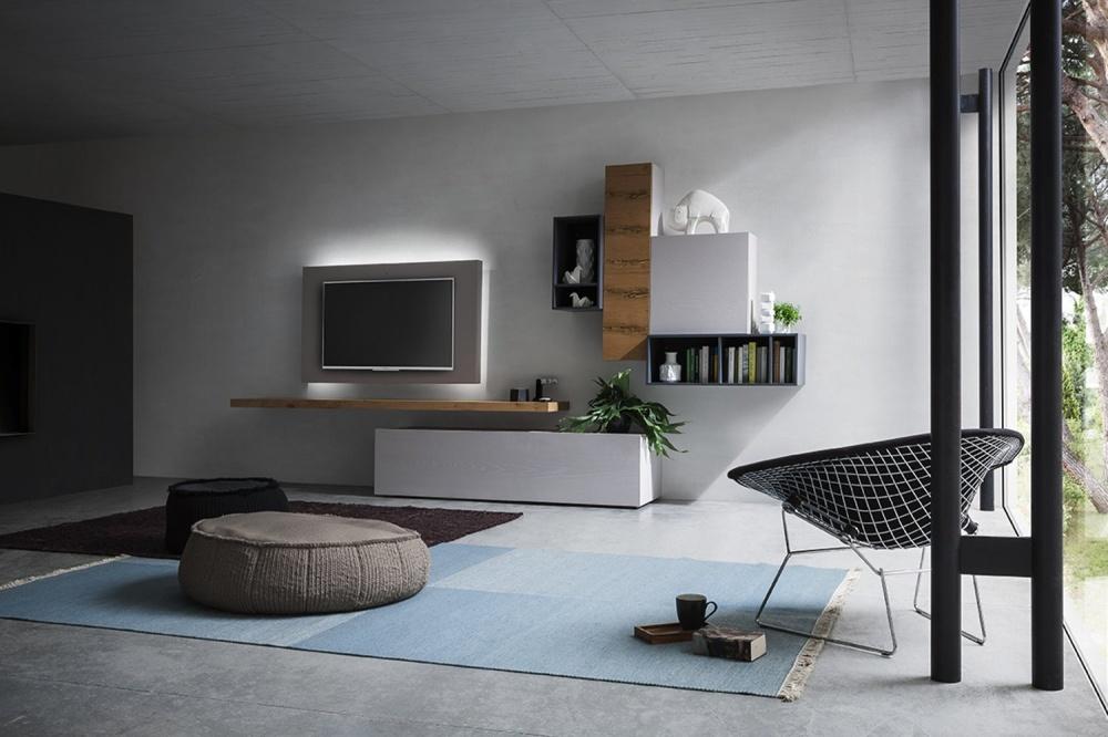 Napol parete attrezzata tv orientabile 502-