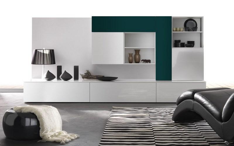 pareti soggiorno moderna azienda Alpe Arredamenti