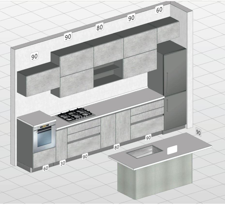 Progettazione cucine su misura a Roma