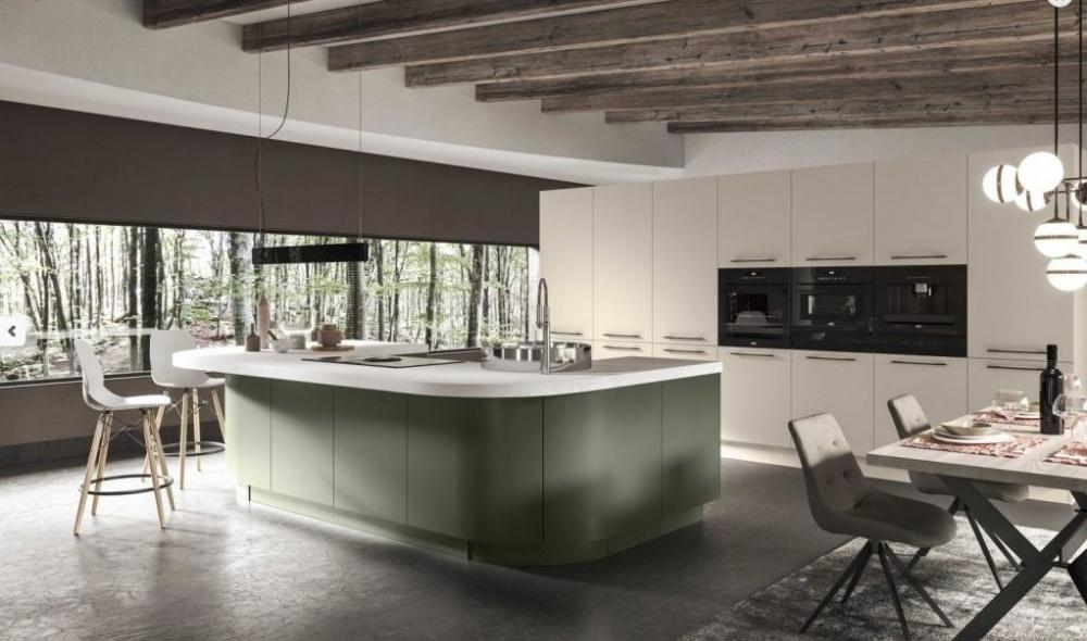 cucina ar.tre sistema curvo a Milano
