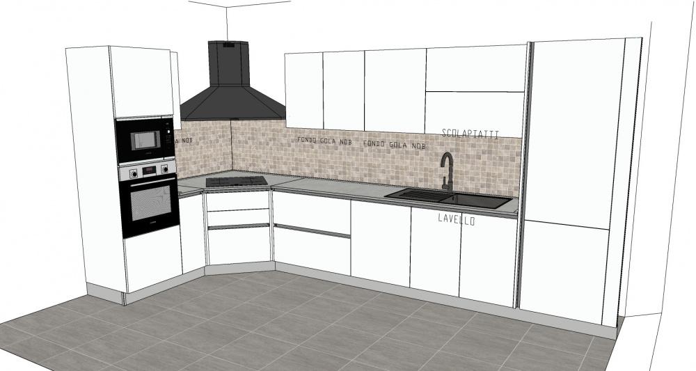 Progettazione cucine su misura a Pistoia