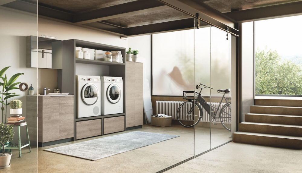 Puntotre Laundry 05 arredo bagno lavanderia