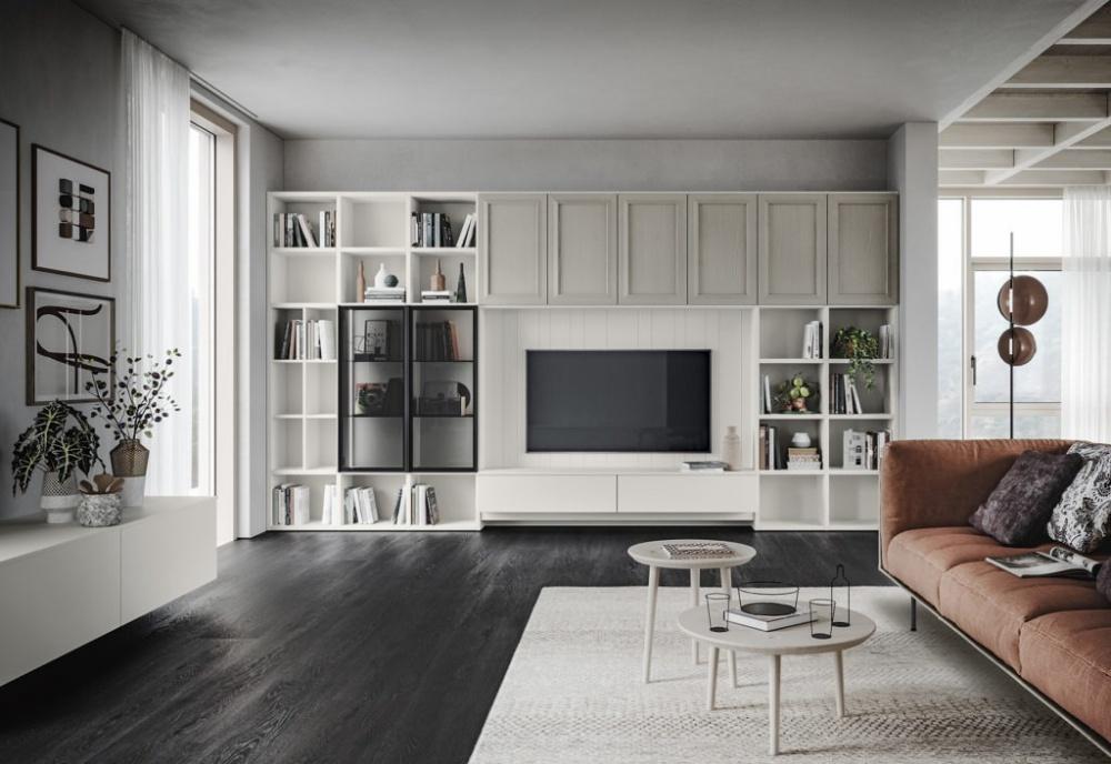 scandola soggiorno in stile classico m 08