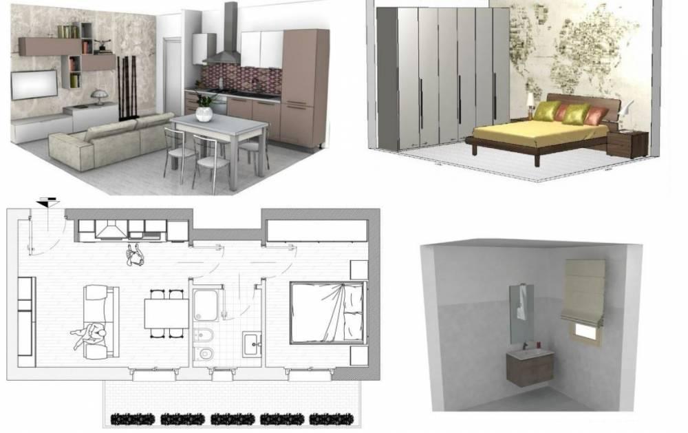 Arredamento completo soluzioni personalizzate for Arredamento appartamento completo