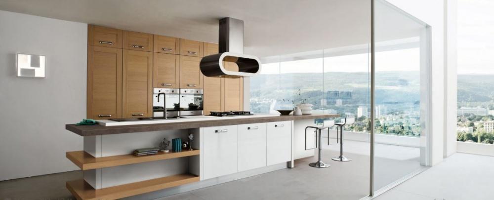cucina ar-tre sistema legno a Milano
